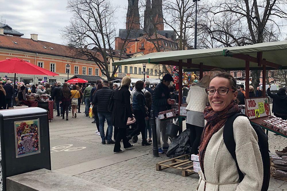 Fika with Ainhoa, a Nurse from Spain working in Sweden