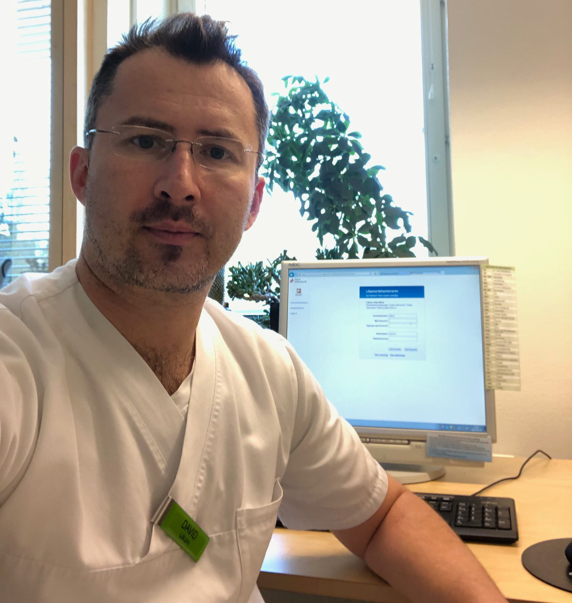 An interview with David Antoniu, a Family Doctor in Sweden